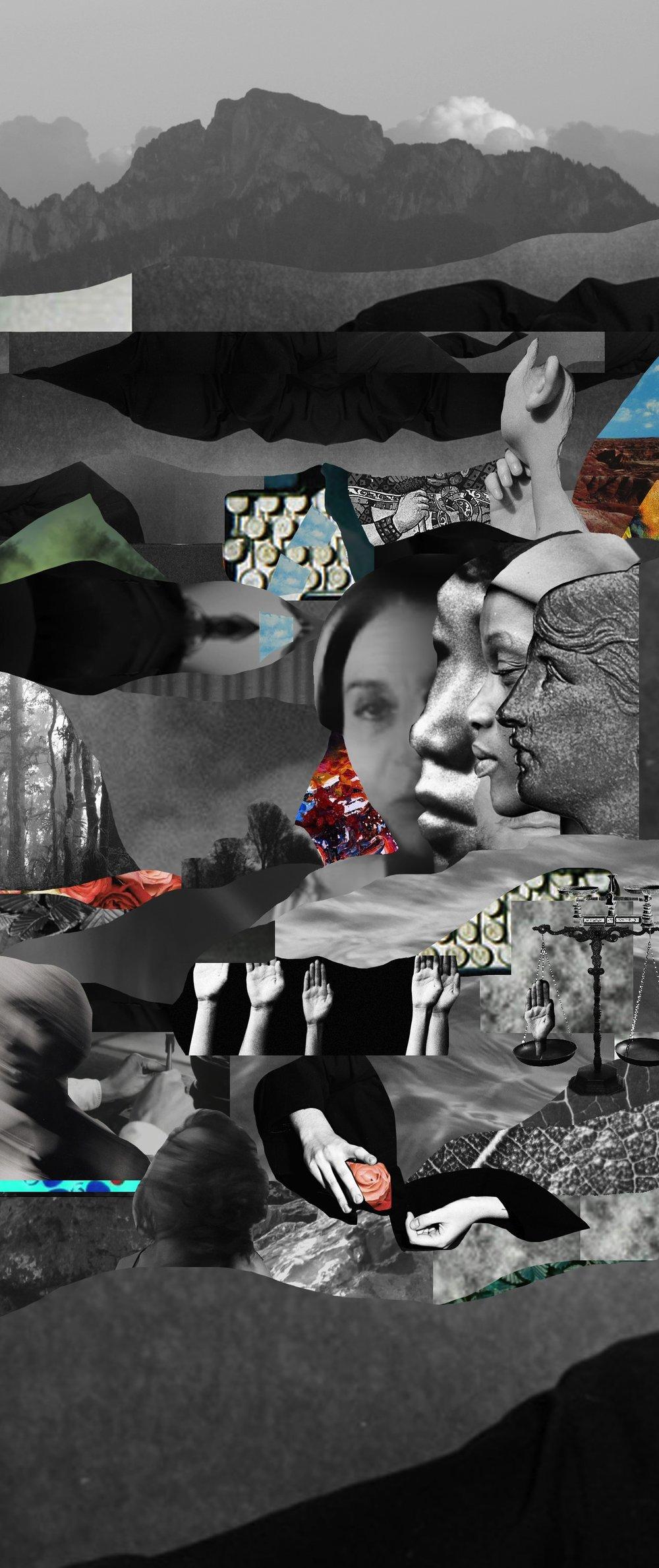 © Collages - Julie Sando