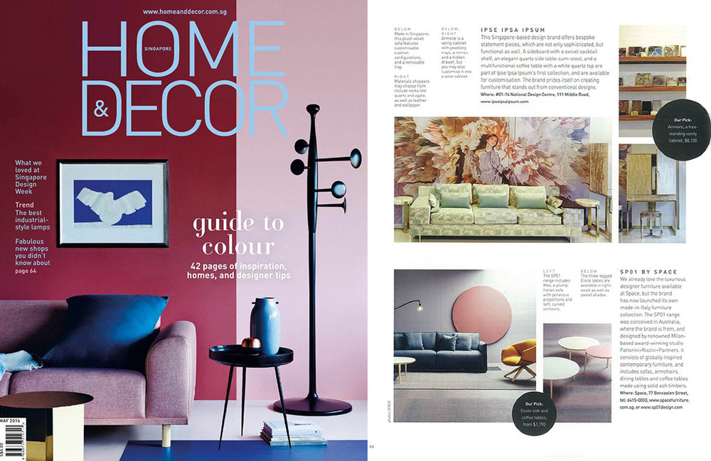 Homes & Decor (SG), May 2016