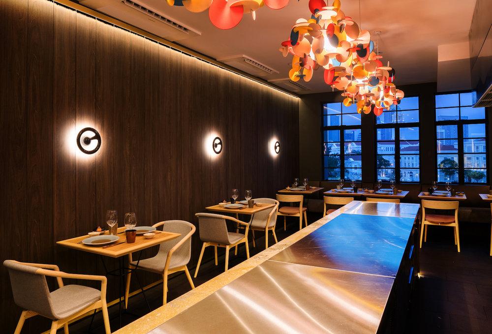 SP01 in Braci Restaurant Singapore
