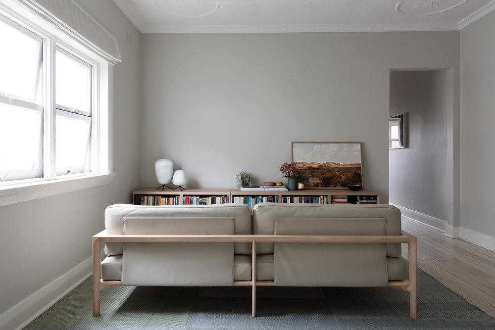 SP01 Ling Sofa in a Bondi Apartment