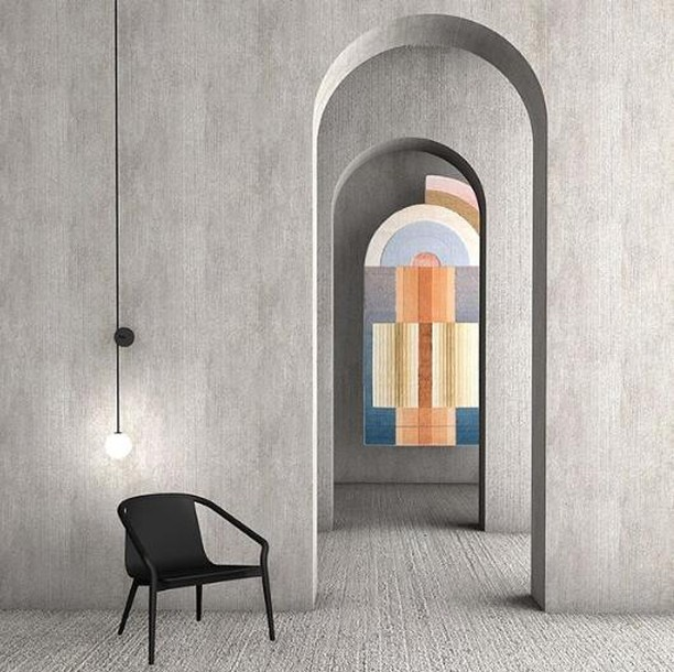 We love this render of our Thomas armchair by @hadge.be ⁣including the beautiful Bliss rug by @cc_tapis . ⁣ .⁣ .⁣ .⁣ #sp01design #architecture #hadge⁣ #design #interiordesign #archappreciation ⁣