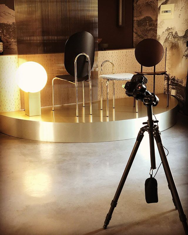 Press day today, ready for tomorrow's reveal. Stay tuned #sp01xmilan #tortonadesignweek