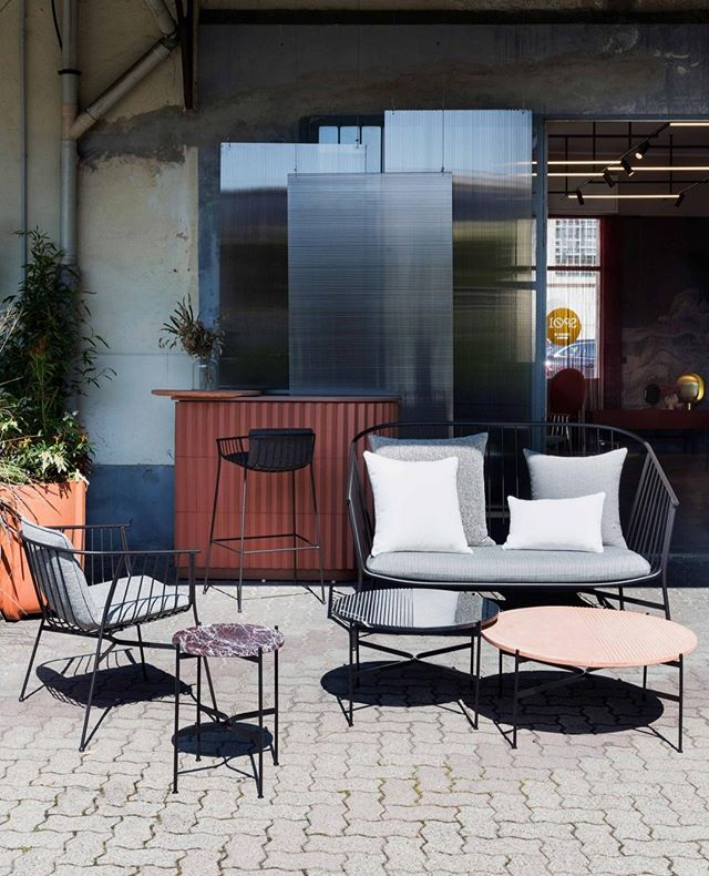 Introducing the Jeanette family designed by @tom_fereday including new tables, armchairs, a lounge and barstools for both indoor and out! Visit us at @archiproducts_milano to see our new releases!⁣ ⁣ .⁣ .⁣ .⁣ #sp01xmilan⁣ #archiproductsmilano⁣ #zonatortona ⁣ #milandesignweek2019⁣ #mdw19