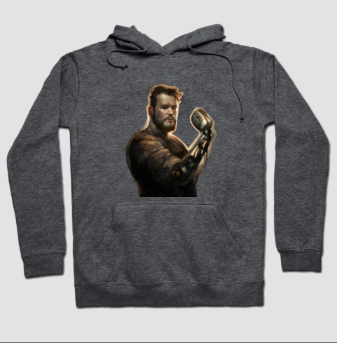 The Illustrious Illustration: PJL Cut-Out Hoodie