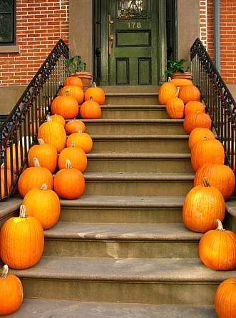 brownstone with pumpkins.jpg