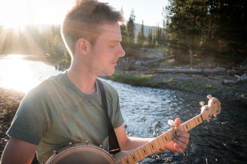 Rich Rosencrans banjos, guitars, bouzoukis, and sings with Outbound Traveler. You can also find him often writing new songs, whether dressed in costume or sitting in a tent in Iceland.