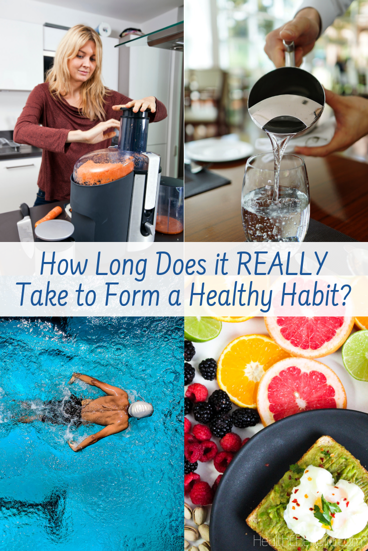 How Long Does it REALLY Take to Form a Healthy Habit?   Health Chef Julia