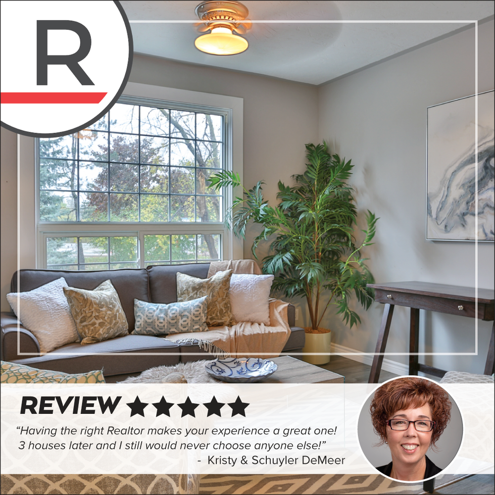 "★★★★★  ""As exciting as purchasing a home can be, it can also prove to be quite emotional and overwhelming as hell, but if you have the right realtor then it certainly makes your experience a great one!  3 houses later and I still would never choose a different realtor!    Vicki Gergely certainly is top notch! This woman drove all over the country side multiple times, was always helpful, always genuine, always knowledgeable, always knew what would work for our family without even saying a word really and most of all always put up with my husbands jokes and jabs 😆   Vicki THANK YOU for all you have done and continue to do as well as this absolutely adorable Xmas gift!!   Friends if you or someone you know is looking or talking about moving I would highly suggest you give Vicki a call Redline Properties Inc."""