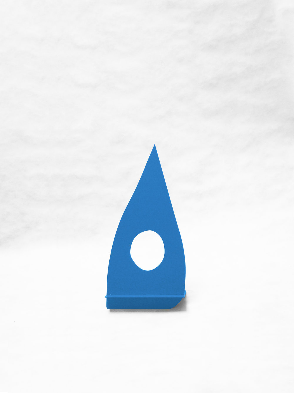 "Gnome With Hole (Blue)   12"" x  6.5"" x 25""  $298.00"