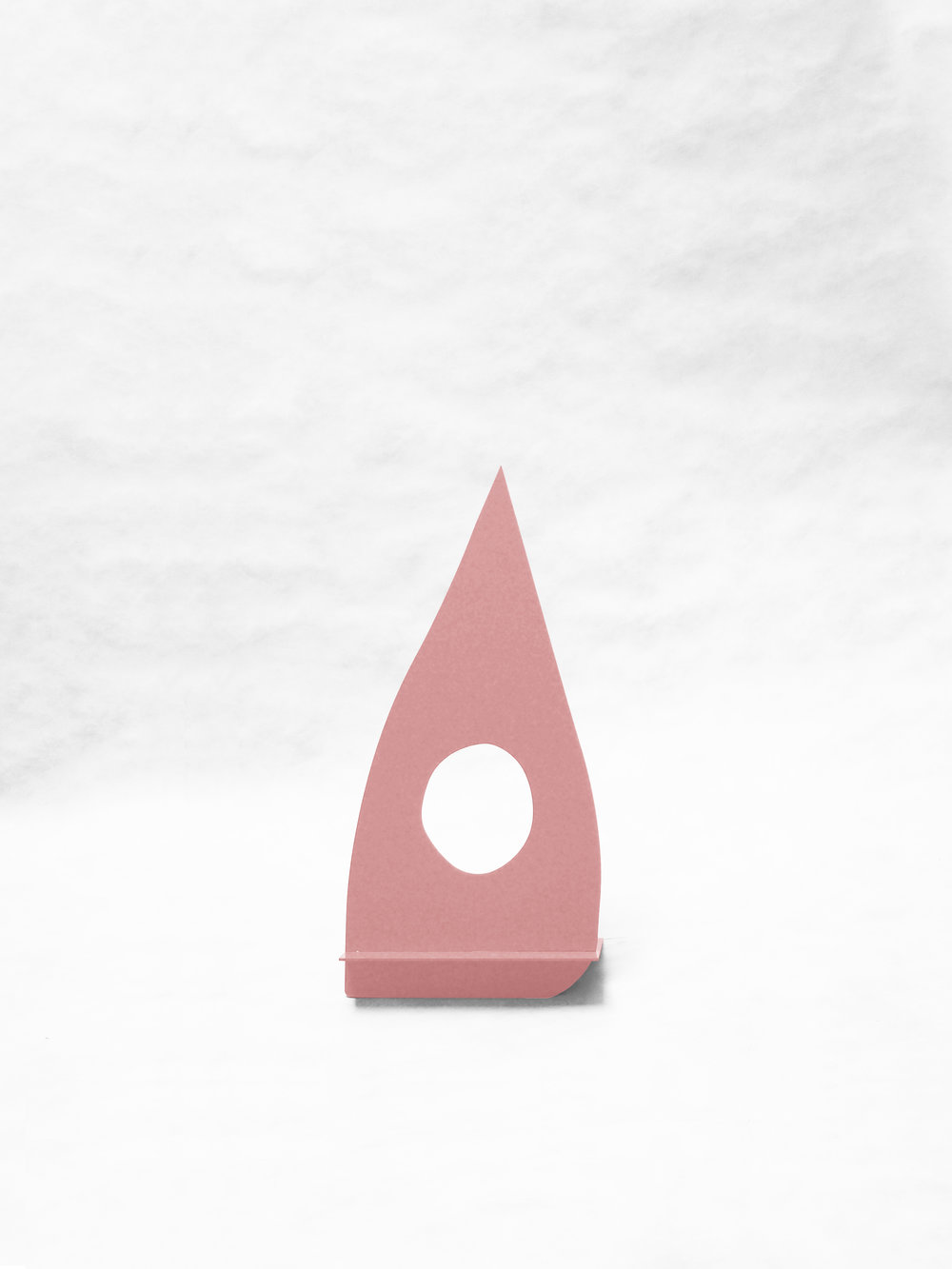 "Gnome With Hole (Pink)   25"" x  6.5"" x 12""  $298.00"