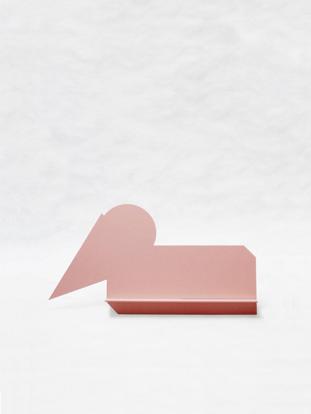 "Gnome Sleeping (Pink)   30"" x 6.5"" x 16""  $298.00"