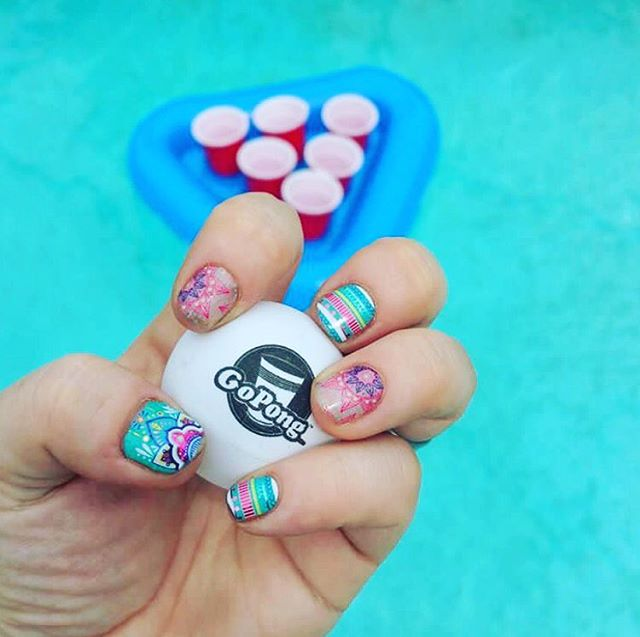 @jamforceone getting the #photooftheday with this awesome shot of the floating glory! 😁📸🔥 . . . . . . . . . . . . . . #gopong #beer #beerpong #pool #fun #summer #water #photo #picture #pic #pics #unique #design #nails #friends #event #vibes #new #product #great #california #oc #beach #vacation #gohard