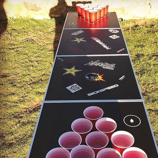 Its BEER:30 and of course you're right on time! #monday 🍻 . . . . . . . . . . . . . . . . . . . . . #gopong #beerpong #beer #brew #friends #mondaymotivation #work #workflow #best #unique #college #fun #study #fam #cool #awesome #diesel #lit #funny #afterschool #bbq #summer #backyard #grass #igers #california