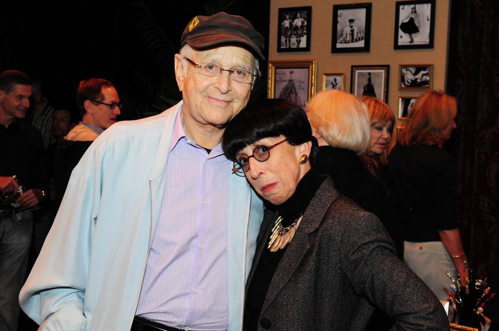 Edith Head (Suz) with Norman Lear