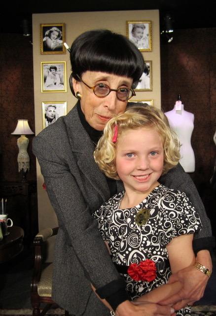 Edith Head (Suz) with Edith Craig