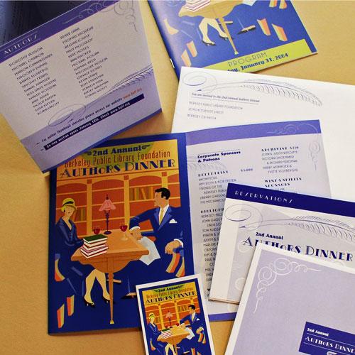 Berkeley Public Library Foundation Authors Dinner.  BPLF.ORG