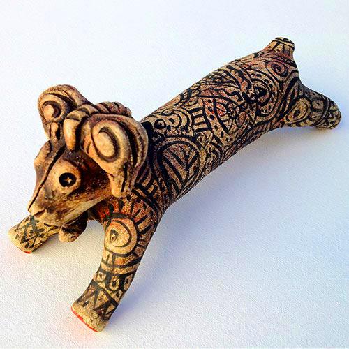 Tattooed Ram.