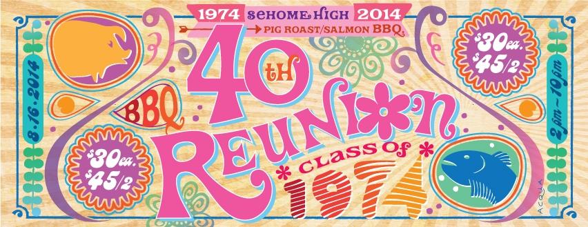 Sehome High Reunion.