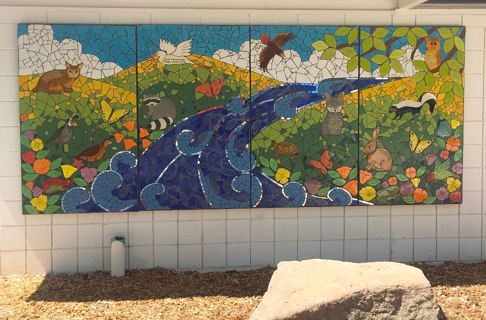 Larkey Pool Mural