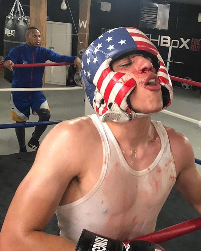 Americans are fighters. Happy birthday USA. #Boxing #Happy4th #SouthBoxGym #bloodsweatandtears #USA