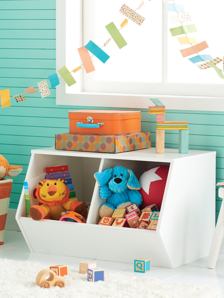 Nursery Storage - art direction Kayd Roy