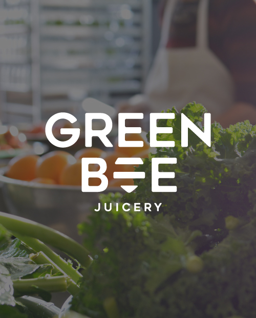 Green Bee Juicery - design by Kayd Roy