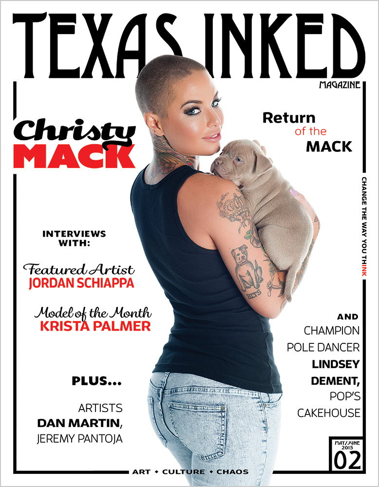 ISSUE NO. 02, feat CHRISTY MACK: Survivor of Domestic Violence