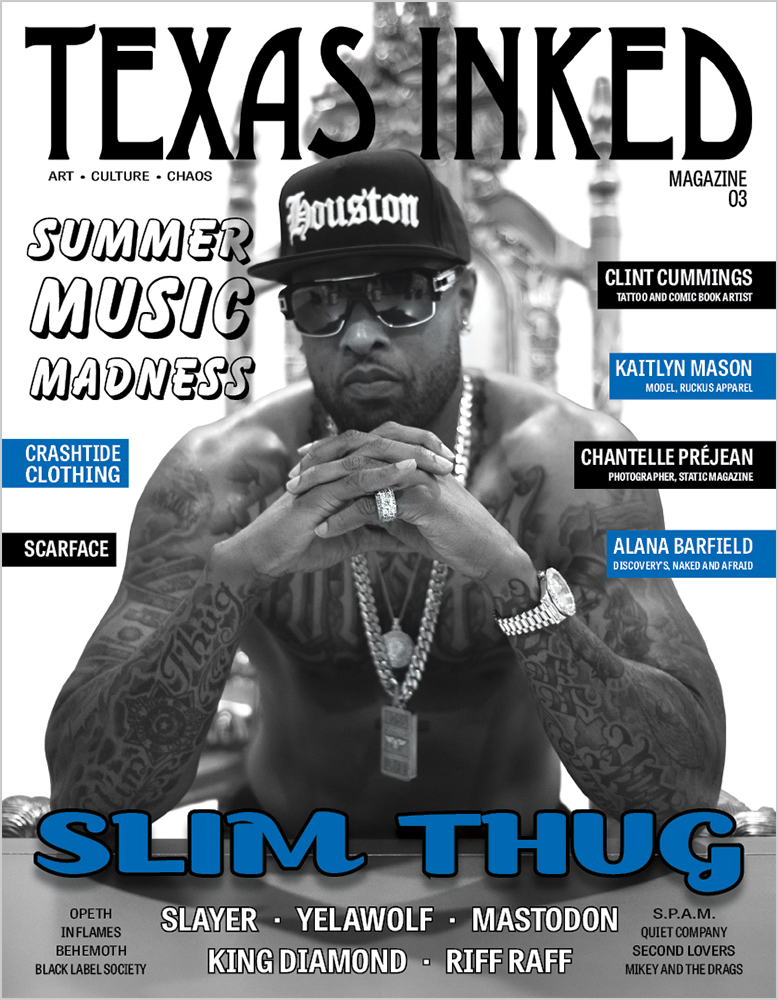 ISSUE NO. 03, The Summer Music Issue feat. SLIM THUG