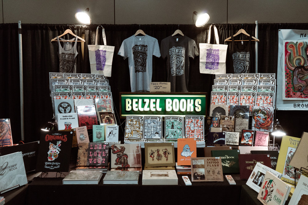 Belzel Books has an incredible array of goods. Located in Austin, and ships worldwide!