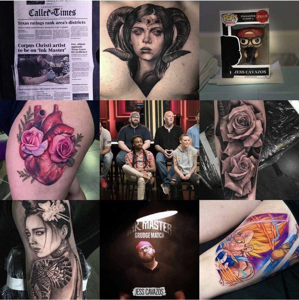 Jess Cavazos   - Tattoo FX, Corpus Christi TX