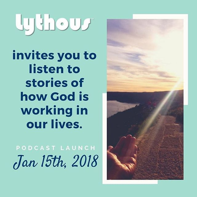 Happy Monday! It is my pleasure to announce the launch of Lythous: a podcast that shares the great news of how God is working in our lives! Airs on Mondays at 12:30pm. We are really grateful for all of the support and the Christians who have agreed to open their lives to glorify God. A special thanks to @inspiracali for the encouragement & all of the beautiful graphics they've provided!! #God #Goodnews #happy #prayer #Christian #podcast #launch #launched #lythous #testimony #faith