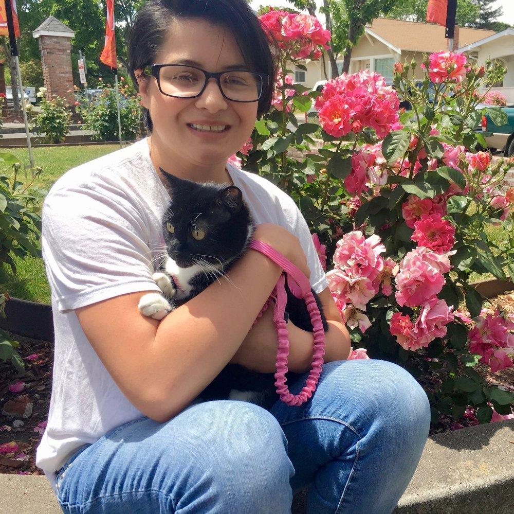 Josie Farrar   Josie joined the Pet Indulgence staff in May, 2017. Josie fell in love with animals at an early age. Her experiences include volunteer work with Solano Humane Society, helping with adoptions, and fostering. She also completed the Animal Law Enforcement Training at Marin Humane Society, and is currently enrolled at Solano Community College, majoring in Animal Biology. Animals have and always be a large part of Josie's life.
