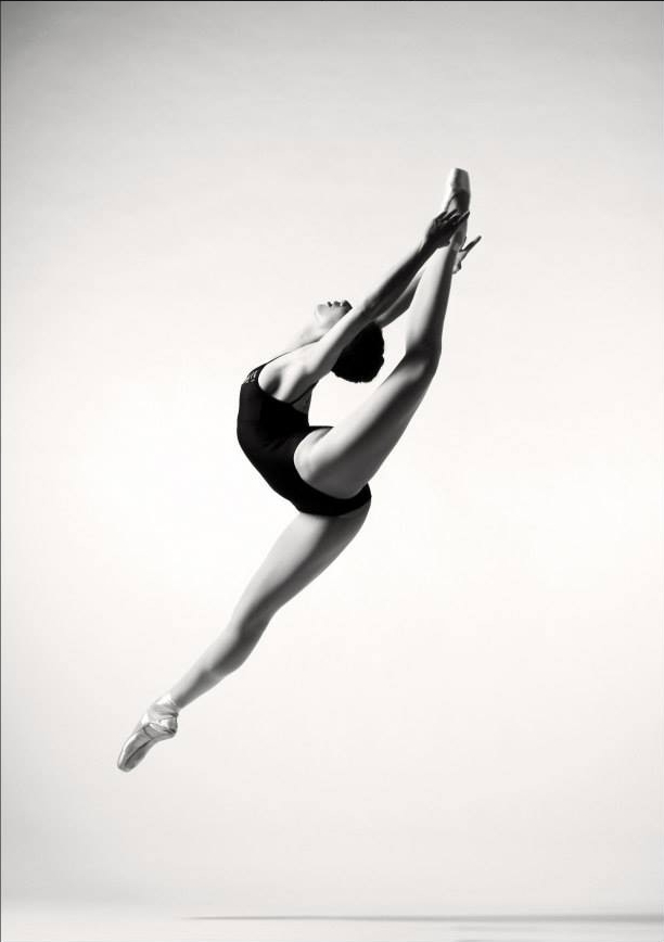 Photo by Peter Tiegen for English National Ballet School