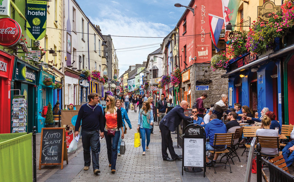 Galway but tbh could be anywhere in Ireland, every town was this cute and colorful