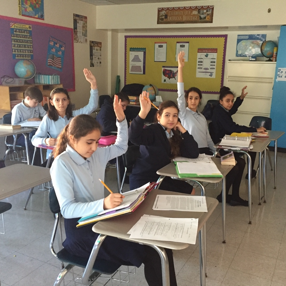 Middle School - Our Middle School philosophy is designed to prepare students to excel in their high school years ahead.  The physical, social, emotional and intellectual changes of 11-14 year olds occur at different rates during this time of transition.The Middle School provides a program of all the necessary educational skills while allowing for individual growth and development in personal discipline, self-motivation, and independent learning.