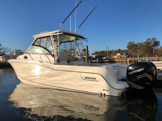 2018 BOSTON WHALER 285 CONQUEST - Located in Morehead City, NC. Will be pulled back to Charleston, SC March 1 if not sold!The boat is LOADED out with 90k worth of Factory installed options. The boat was purchased in December of 2018 for 275k! This boat has a list price with these options from whaler for 340k New! Save Big off new!More Info →