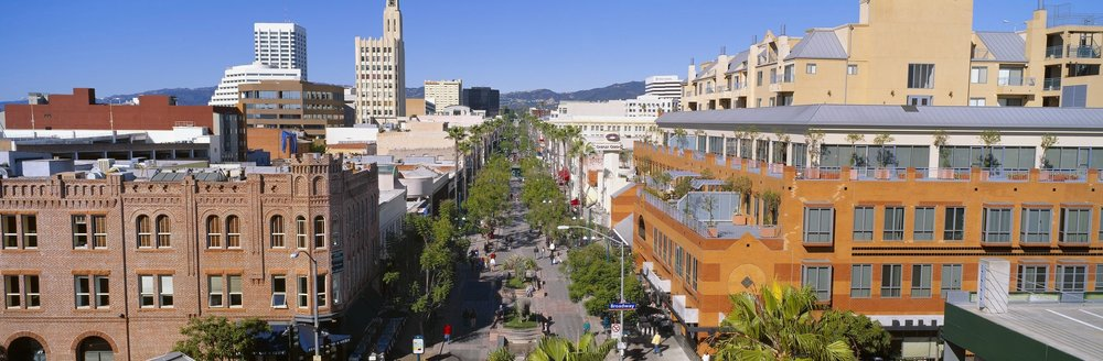 Santa Monica Place and Third Street Promenade