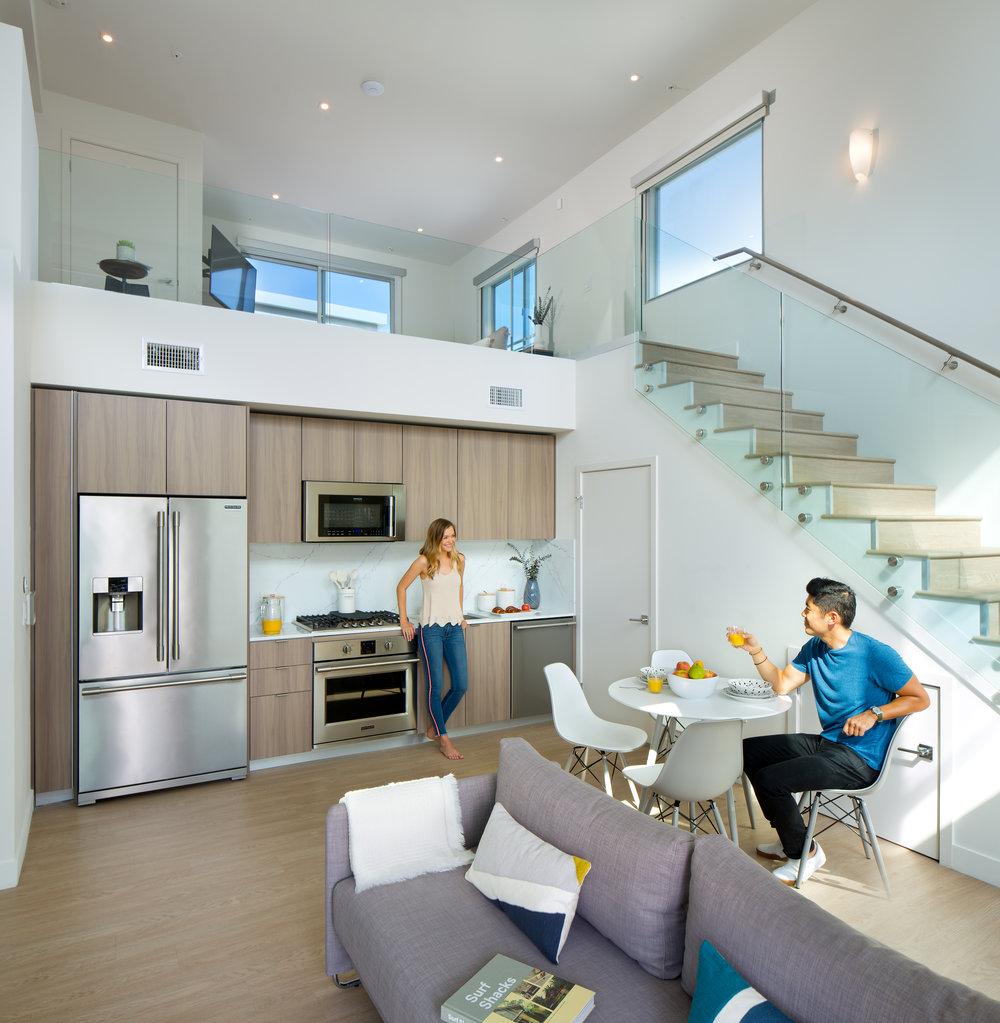West-Los-Angeles-Luxury-Apartments-1759 Beloit-Interior-Kitchen-Living-Room.jpg