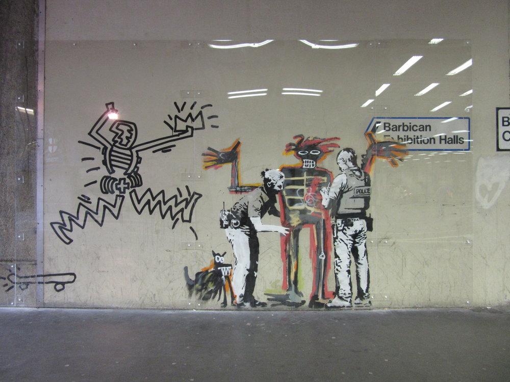 Barbican Banksy