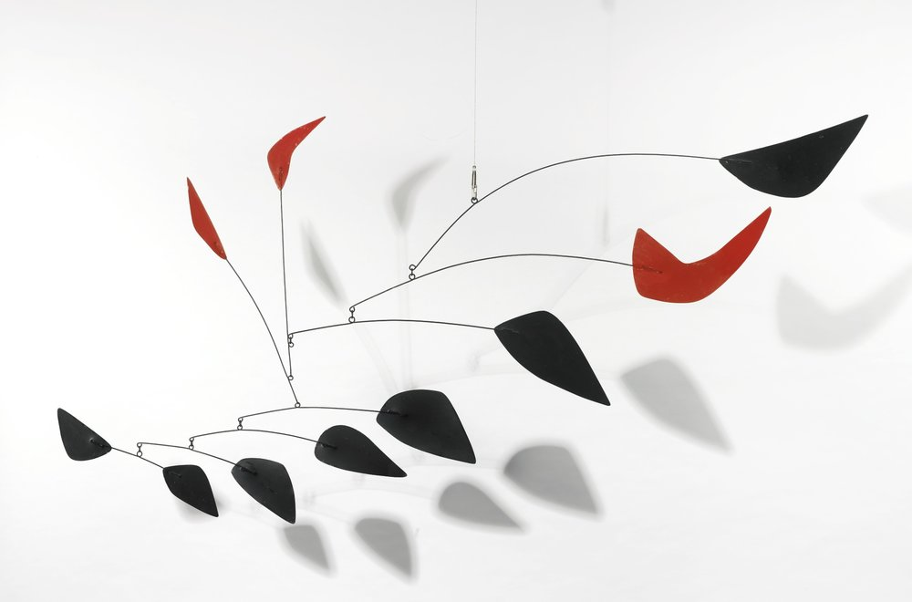 Alexander Calder mobile Untitled - source Sotheby's