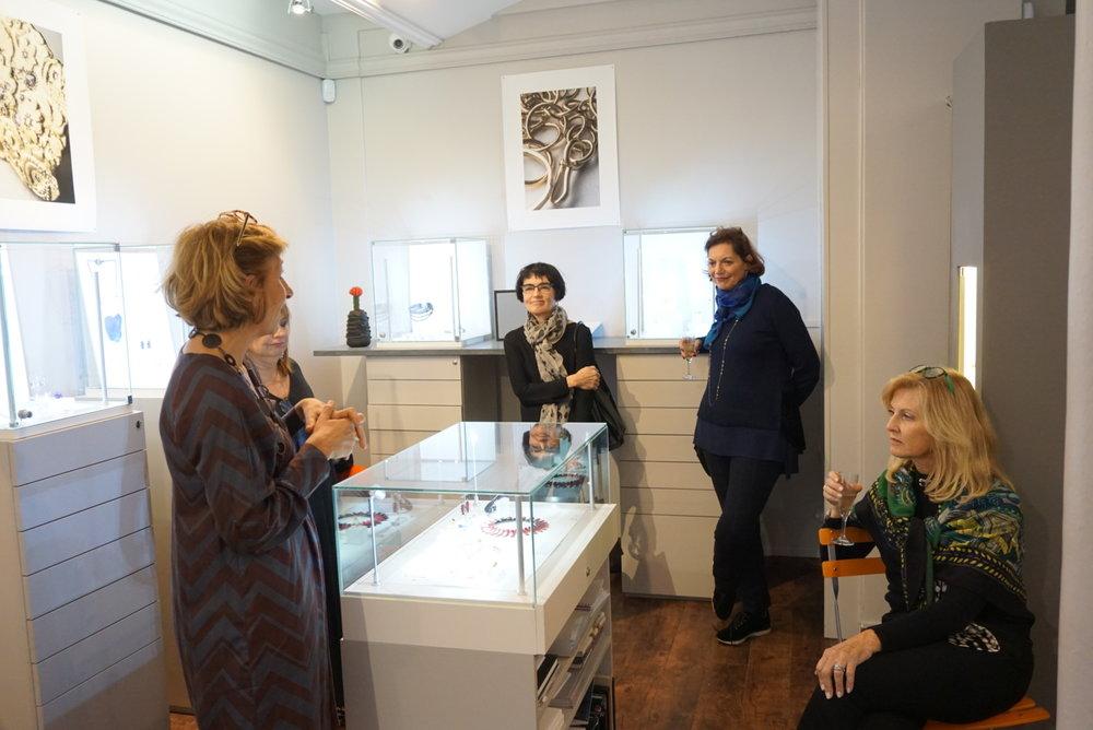 Our visit at galerie Elsa Vanier in October 2018