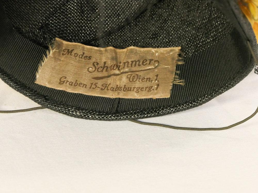 1930's Hat Label Vienna