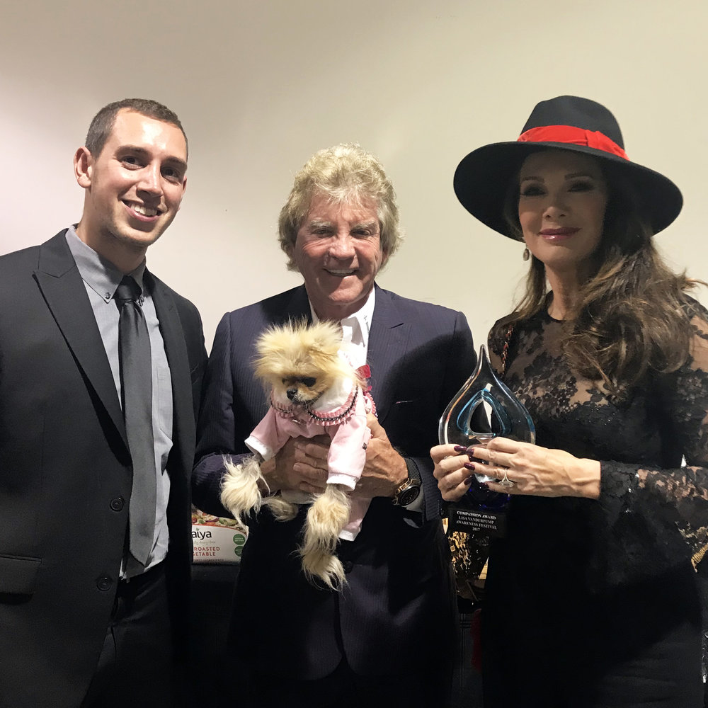 Getting to meet Lisa Vanderpump, Ken, and Giggy was a highlight of the film festival circuit