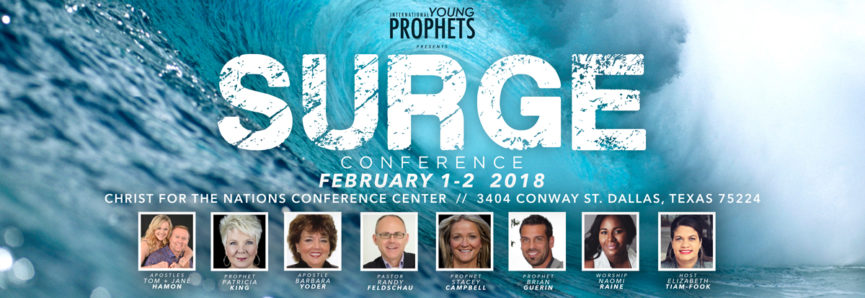 Prophet Charlie and Brynn Shamp will be attending these powerful gatherings along with 60 other young emerging prophetic voices from around the world.