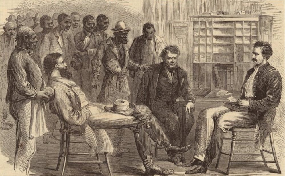 "- ""After the Civil War, Memphis Vagrancy Laws Kept African Americans in 'Slavery By Another Name'"""