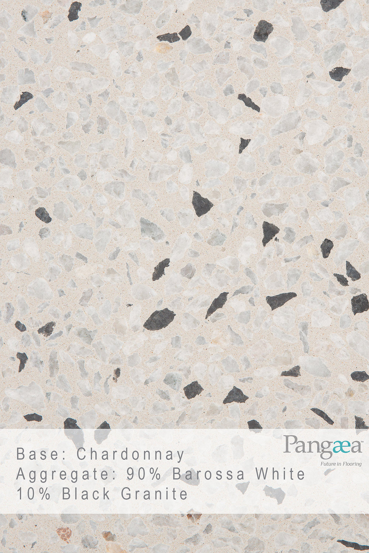 Base -chardonnay. aggregate - 90% barossa white 10% black granite