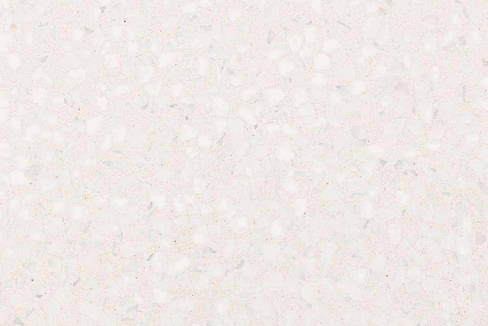 BASE-ARCTIC WHITE. AGGREGATE- WARM WHITE
