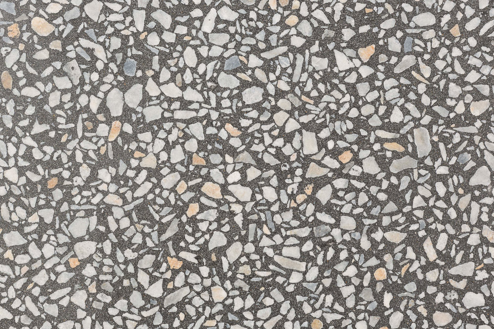 BASE-CHARCOAL. AGGREGATE-KOONUNGA HILL GREY