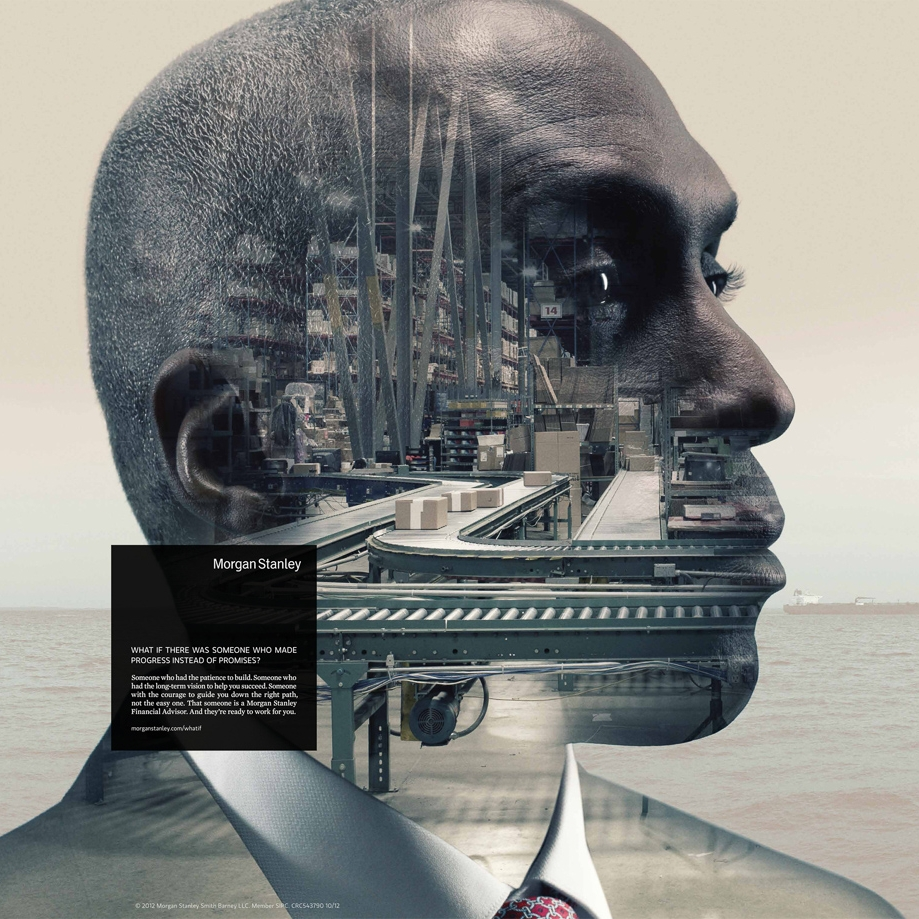 Morgan Stanley - Client: Morgan StanleyLocation: New York, New YorkPhotographer: Nadav Kander