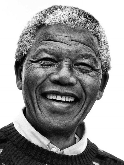 "Nelson Mandela    ""If you want to make peace with your enemy, you have to work with your enemy. Then he becomes your partner."""